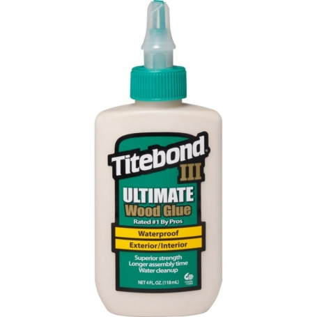 Colle lutherie guitare Titebond® 3 118 ml