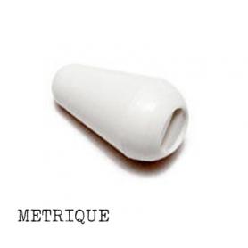 Bouton sélecteur métrique Stratocaster® blanc