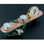 Plaque électronique guitare optimisée chrome 4 positions Telecaster® US