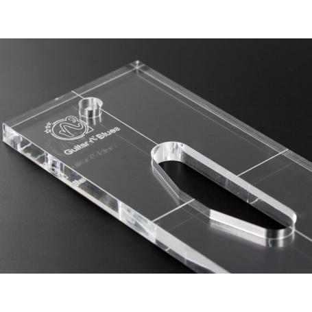 Gabarit micro Telecaster manche