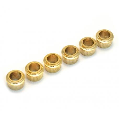 6 adaptateurs mécaniques 100 à 63,5mm doré