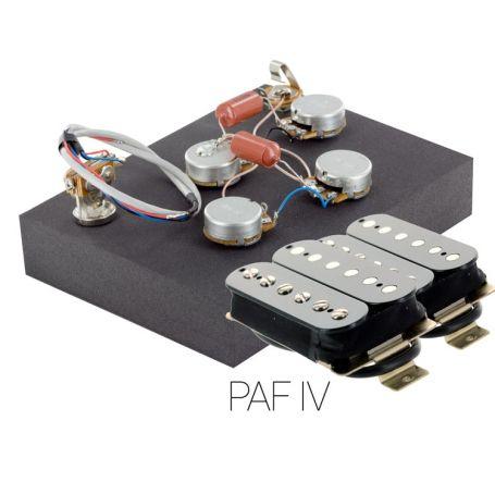 Pack électronique copie LesPaul 3 positions - Micros PAF noir