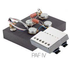 Pack électronique copie LesPaul 3 positions - Micros PAF nickel