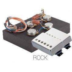 Pack électronique copie LesPaul 6 positions - Micros Rock chrome