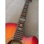 Sticker décor ethnique touche guitare - Turquoise