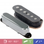 Set 2 micros Telecaster Giovanni VGT-60 chrome