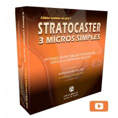 Formation optimisation câblage guitare Stratocaster SSS