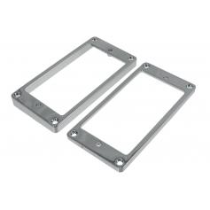 Lot 2 contours métal table plate Les Paul US chrome