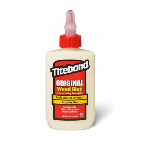 Colle lutherie guitare Titebond original 118 ml