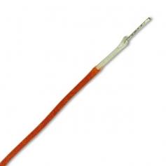 Fil câblage Gavitt vintage tissu 22AWG orange