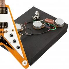 Kit électronique guitare optimisé copie Flying V 58