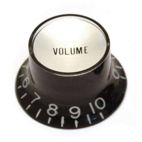 Bouton copie SG volume noir & chrome