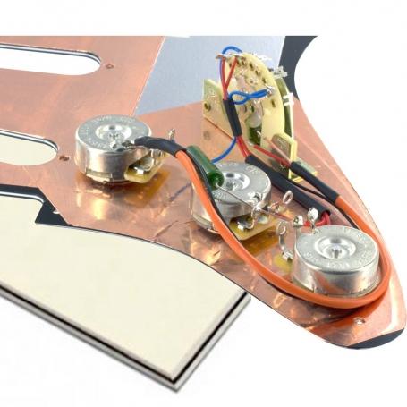 Plaque électronique guitare optimisée vieux blanc Stratocaster® US gaucher