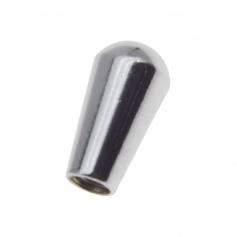 Bouton toggle import métrique Les Paul métal chrome (axe Ø3.30mm)