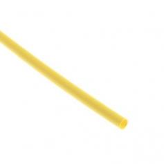 manchon thermorétractable 3.2 / 1.6mm jaune (15cm)