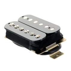 Micro guitare humbucker Gn'B PAF chevalet noir