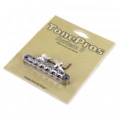 Chevalet Tonepros T3BP tune-o-matic Les Paul US chrome