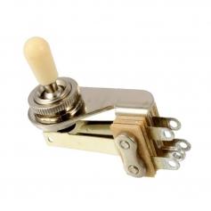 Sélecteur micro toggle Switchcraft SG® coudé chrome