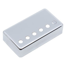 Capot humbucker silver nickel 6 trous chrome 50mm