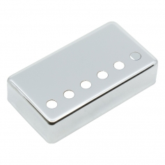 Capot humbucker silver nickel 6 trous nickel 50mm