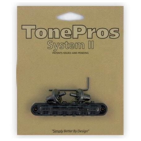 Chevalet Tonepros T3BP tune-o-matic Les Paul US black