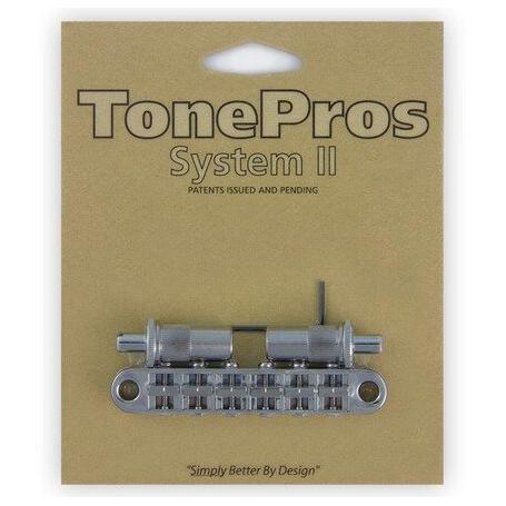 Chevalet Tonepros T3BT tune-o-matic Métrique chrome