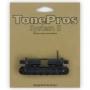 Chevalet Tonepros T3BT tune-o-matic Métrique noir