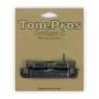 Cordier tailpiece Tonepros copie LesPaul noir