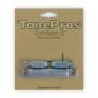 Cordier tailpiece Tonepros Les Paul US chrome