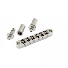 Chevalet tune-O-matic gros inserts Gotoh chrome