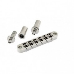 Chevalet tune-O-matic gros inserts Gotoh® nickel