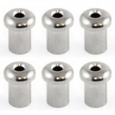 6 ferrules de table 5mm chrome