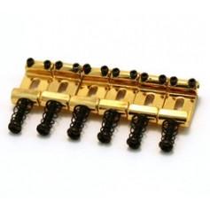 6 pontets vintages chevalet Stratocaster® doré