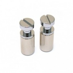 Lot 2 inserts cordier type LesPaul® US chrome