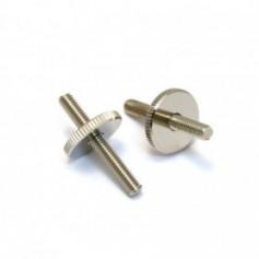 Lot 2 inserts chevalet vintage type LesPaul® US nickel