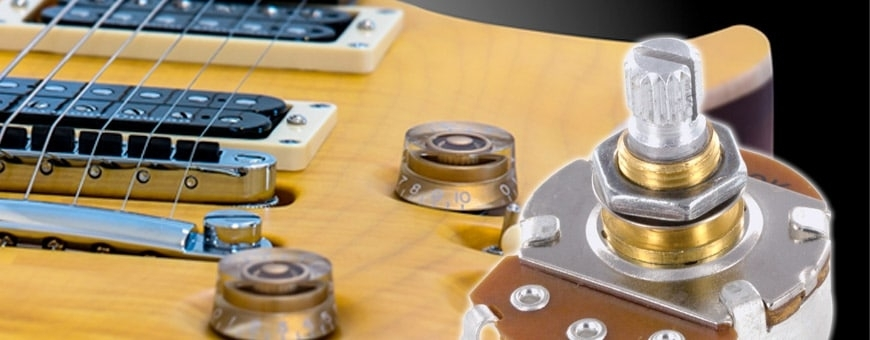 Potentiomètres guitares