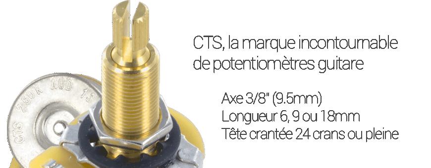 Potentiomètres CTS US