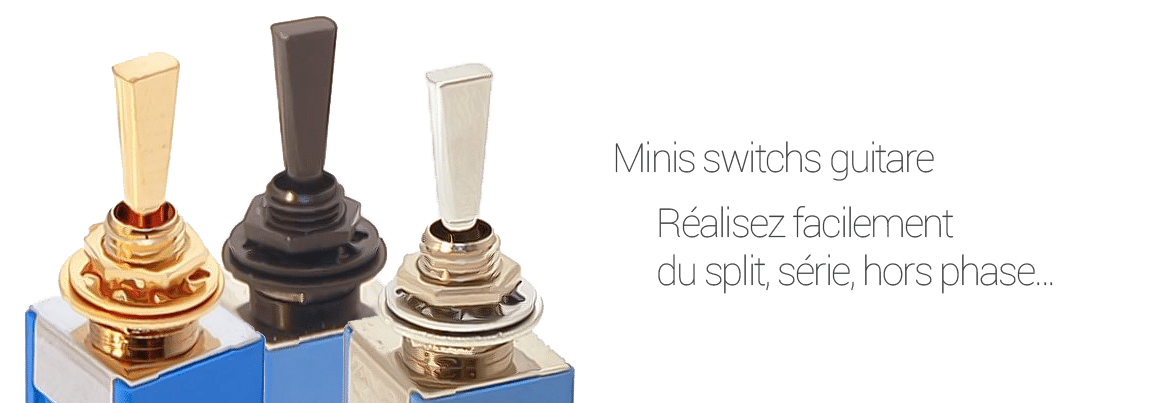 Minis switch guitare