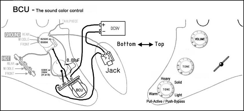 Plan câblage filtre BCU ARTEC