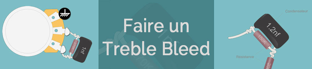 Faire un treble bleed guitare - blog