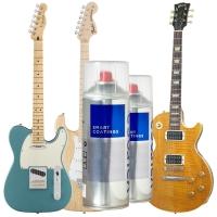 Guide finition bombe nitro cellulosique guitare